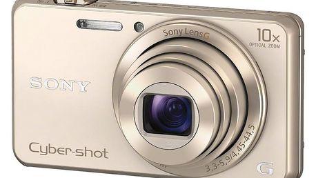 Sony Cybershot DSC-WX220, zlatá - DSCWX220N.CE3