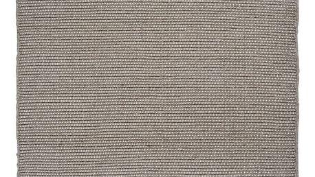 Šedý vlněný koberec Linie Design Bombay,160x230 cm