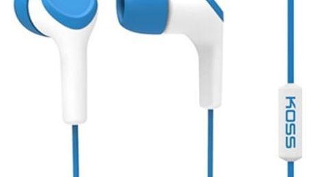 Sluchátka Koss KEB/15i (doživotní záruka) modrá