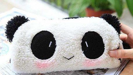 Penál v podobě pandy - dodání do 2 dnů