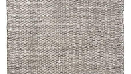 Světle šedý vlněný koberec Linie Design Bombay,140x200 cm