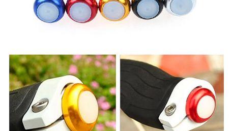 Boční LED osvětlení do řídítek jízdního kola - 5 barev