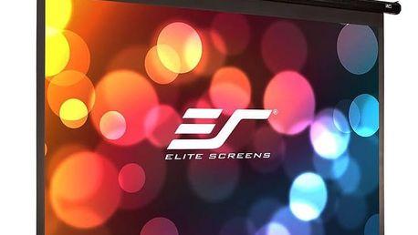 """Elite Screens plátno elektrické motorové 110"""" (279,4) cm)/ 16:9/ 137 x 244 cm/ case černý - ELECTRIC110H"""