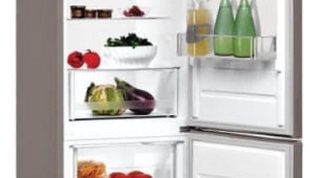 Kombinace chladničky s mrazničkou Indesit LR9 S1Q F X nerez