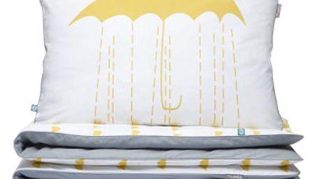 Povlečení Mumla Yellow Umbrellas, 200x220cm - doprava zdarma!