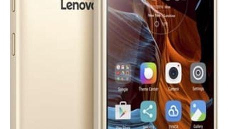 Mobilní telefon Lenovo K5 Plus Dual SIM (PA2R0036CZ) zlatý
