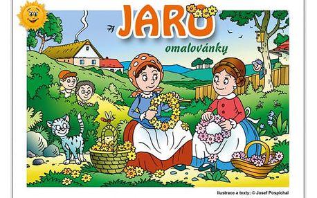 Omalovánky - Jaro - dodání do 2 dnů