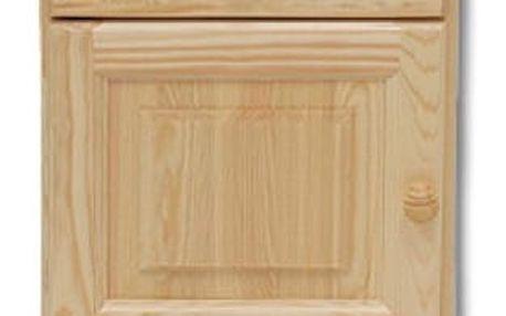 Noční stolek SN101 masiv borovice