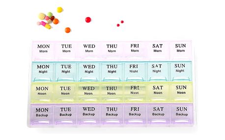 Měsíční dávkovač léků