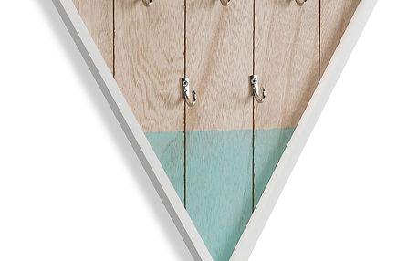 Nástěnná dekorace s věšáky Versa Triangle