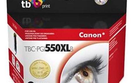 Inkoustová náplň TB Canon PGI-550XL - kompatibilní (TBC-PGI550XLB) černá