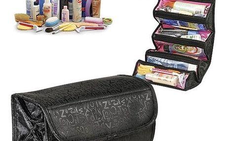 Rozkládací kosmetická taška na cesty - dodání do 2 dnů