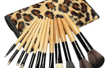 Sada 12 kusů štětců na make-up - dodání do 2 dnů