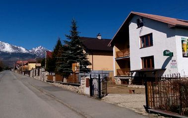 Vysoké Tatry pro 2 v rodinném penzionu Alex