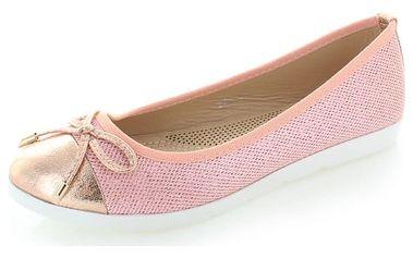 Růžové balerínky Sivia
