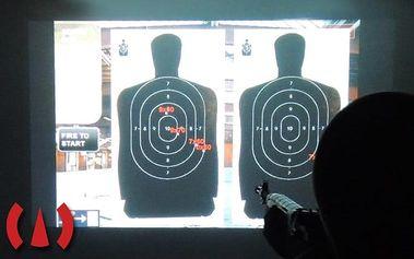 30–60 minut na laserové projekční střelnici pro 1–4 hráče v Příbrami
