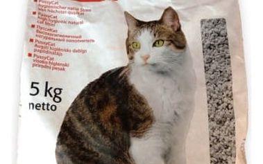 Stelivo pro kočky a jiná zvířata PUSSYCAT!