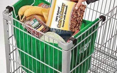 Skládací taška do nákupního košíku