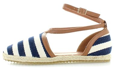 Modré espadrilly Sailor