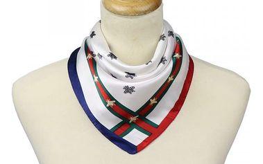 Hedvábně hebký šátek pro dámy - 3 vzory