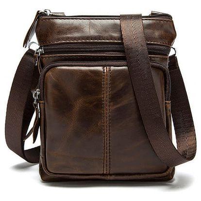 Pánská taška v elegantním provedení z umělé kůže