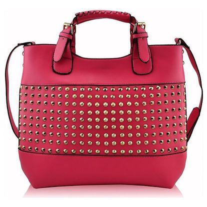 Dámská kabelka Jessica 106A růžová