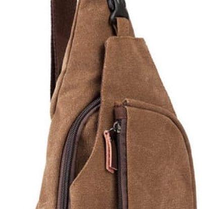 Pánský batoh přes rameno ve třech variantách