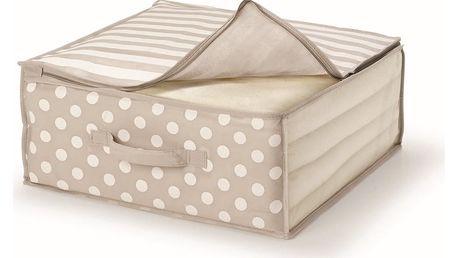 Hnědý uložný box na přikrývky Cosatto Trend,45x45cm