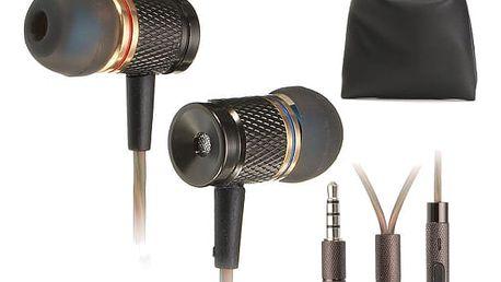 Kvalitní špuntová sluchátka s příslušenstvím