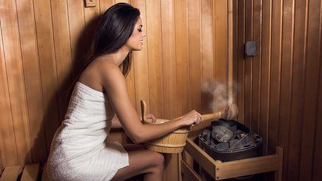 Měsíční permanentka do sauny a páry