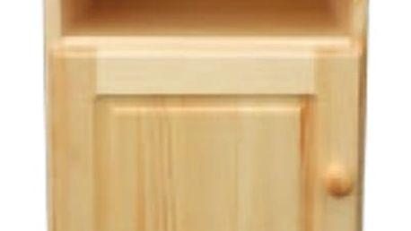 Noční stolek SN109 masiv borovice