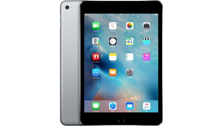 APPLE iPad Mini 4, 128GB, Wi-Fi, šedá - MK9N2FD/A
