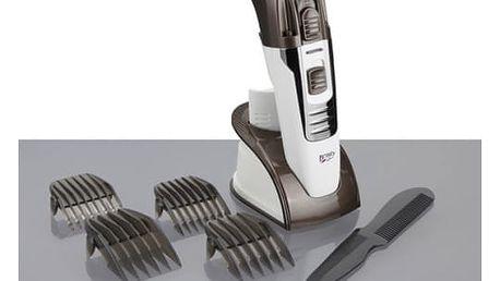 Zastřihovač vlasů JATA MP1031B bílý/hnědý