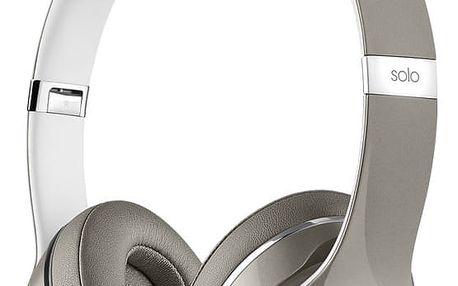 Beats Solo2, Luxe Edition, stříbrná - MLA42ZM/A