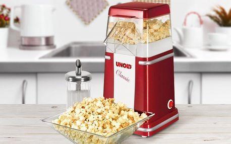 Popcornovač Unold: pohoštění na každou párty