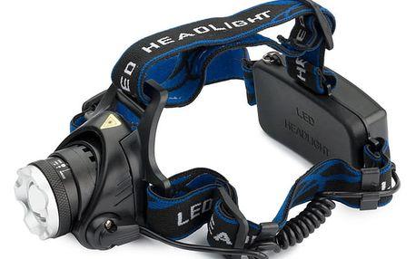 LED voděodolná čelovka TA 309