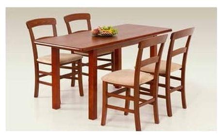 Dřevěný jídelní stůl Dinner 120 antická třešeň