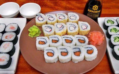 Lahodné sushi s sebou: 32 čerstvých kousků