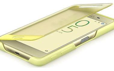 Pouzdro Sony SCR56 Lime Zlatá