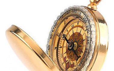 Originální kovový kompas Camping