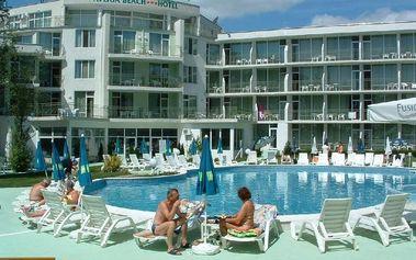 Bulharsko - Slunečné Pobřeží na 15 dní, polopenze nebo snídaně s dopravou letecky z Brna