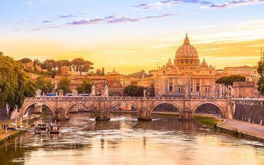 Krásy jižní Itálie: Řím, Pompeje, Capri, Vesuv, Vatikán s ubytováním v 4* hotelu