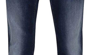 Tmavě modré džíny s vyšisovaným efektem Shine Original