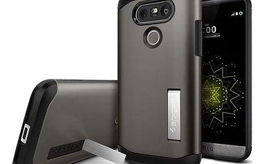Spigen Slim Armor kryt LG G5 šedý