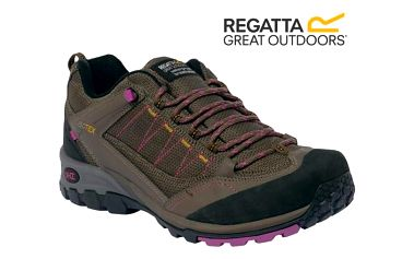 Dámské boty Regatta RWF446 ULTRA-MAX II LOW Roasted/VivV 41