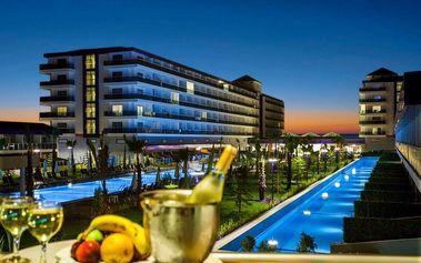 Turecko - Alanya na 8 až 11 dní, ultra all inclusive s dopravou letecky z Bratislavy