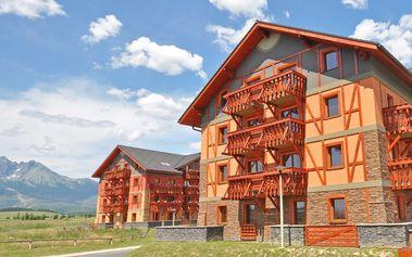 Jarní rodinný pobyt v apartmánovém komplexu Tatragolf Mountain Resort ****