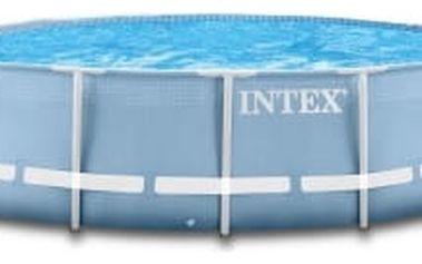 Bazén Intex Prism Frame 3,66 x 1,22 m (bez filtrace a příslušenství, ale s průchodkami pro napojení filtrace)