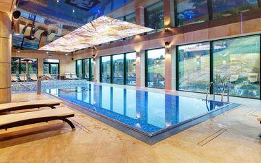 Obdivujte krásu polských hor přímo z wellness centra luxusního hotelu Pegaz ****