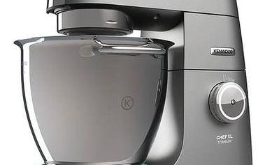 Kuchyňský robot Kenwood Chef XL Titanium KVL8400S šedý + K nákupu poukaz v hodnotě 3 000 Kč na další nákup + Doprava zdarma